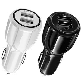 $enCountryForm.capitalKeyWord NZ - QC 3.0 Quick Charge Car charger Dual usb Ports 5V 9V 12V 3.1A Car chargers adapter for iphone 7 8 x Samsung s7 s8 gps tablet pc