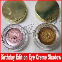 Rose Eye Shadow Canada - Creme Shadow Copper and Rose Gold 2 Colors Birthday Limited Edition Metallic Eye Shadow eye makeup
