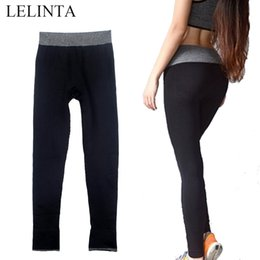 $enCountryForm.capitalKeyWord NZ - LELINTA Women's Leggings Fitness Sport Pants Gray Breathble High Waist Workout Black Sportswear Yoga Leggings