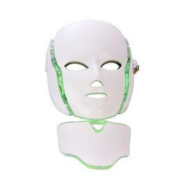 $enCountryForm.capitalKeyWord UK - Home Spa Use PDT Machine 7 color Infrared Light Wrinkle Remove Acne Treatment Skin Rejuvenation LED Photon Facial Mask