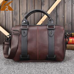 $enCountryForm.capitalKeyWord Canada - 2018 Luxury Work Tote Business Shoulder Bag Famous Brand Designer Genuine Leather Briefcase Mens Vintage Crossbody Bags Handbags