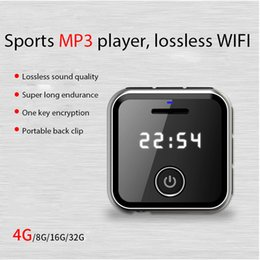 free mp3 music 2018 - HIFI Lossless MP3 Player Free Earphone FM Recorder U Disk Function 4GB Music Player Support TF expansion to 64G Audio di