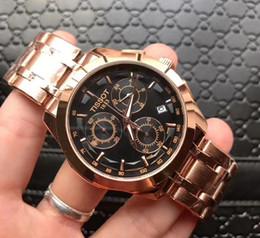 Опт Новые часы роскошные часы для мужчин мода классический стиль из нержавеющей стали ремешок высокое качество кварцевые наручные часы A1