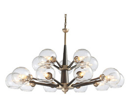 Lighting Luminaries online shopping - Regron Modern Chandelier Luminaries Natural Led Chandelier Lamp Idyllic Glass Ceiling Chandeliers Milk Light For Living Room Villa Hotel Use