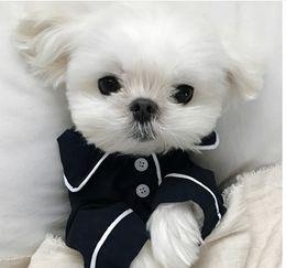 teddy bear shirts 2019 - Summer French dog pajamas Pomeranian bear bullfighting small dog Teddy pet clothes shirt Feel Comfortable When Touched c