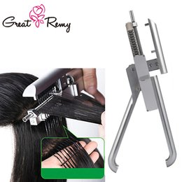 Wholesale 6D Wig Connection Gun Professional Salon Equipment 6D Hair Extension Tool Increasing Hair Length and Density or Change Hair Color