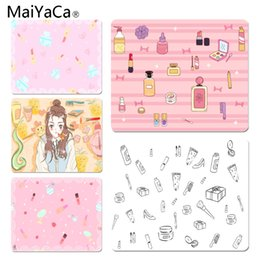 Discount anime laptop - MaiYaCa Vintage Cool Cosmetic Customized MousePads Computer Laptop Anime Mouse Mat Size for 250x290x2mm Rubber Mousemats