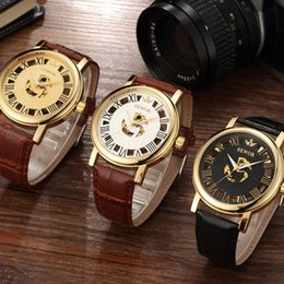 watches luxury skeleton man Australia - SEWOR Fashion Automatic Mechanical Wristwatches Luxury Watches Skeleton Military Clock Leather Men Casual Erkek Kol Saatleri SWQ39-605