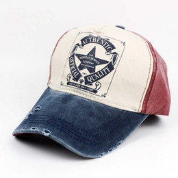 0a1148c7d76 New Arrival 100% Cotton Washed Baseball Caps Fashion Street Snapback Hat  Curved Brim High Quality Trucker Caps Vintage Frayed Strapback Hat
