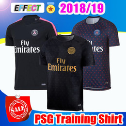 9371147a0 2018 PSG Soccer Training Shirts 18 19 MBAPPE Soccer Jerseys CAVANI  Survetement 2019 Paris saint germain football shirts maillot de foot