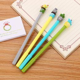 $enCountryForm.capitalKeyWord Canada - Cute Gel Pen Creative Cactus Plants Pen Kawaii Canetas For School Writing Kids Gift Korean Stationery Office Supplies