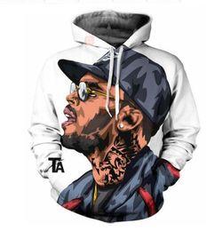 $enCountryForm.capitalKeyWord Canada - New Fashion Women Men Hip Hop Singer Chris Brown 3d print Hoodies Hoody Long Sleeve Hooded Sweatshirts Jacket Pullover Top LMS0069