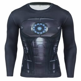 $enCountryForm.capitalKeyWord NZ - Mens Fitness 3D Prints Long Sleeves T Shirt Men Bodybuilding Skin Tight Thermal Compression Shirts MMA Crossfit Workout Top Gear C03