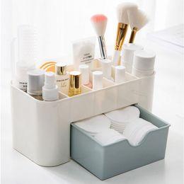 $enCountryForm.capitalKeyWord Australia - Plastic Cosmetic Storage Box Small Drawer Jewelry Box Desktop Sundries Storage Container Makeup Organizer Casket