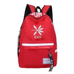 Helpful 2018 New Exo Han Fan Fashion Men And Women Student Backpack And Leisure Backpack Luggage & Bags