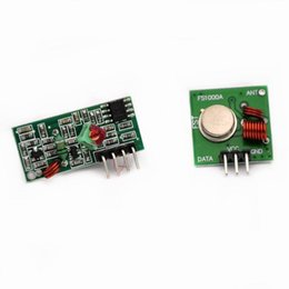 $enCountryForm.capitalKeyWord NZ - 86077 1Lot= 5pair (10pcs) 433Mhz RF transmitter and receiver Module link kit ARM MCU WL diy 433mhz wireless Hot sale