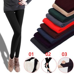 7f3500a93ee76 Autumn and winter single layer brushed pull pants nine pants pantyhose stepping  feet female leggings