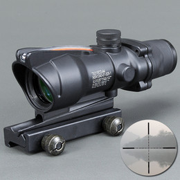 $enCountryForm.capitalKeyWord Canada - Trijicon New Hot sale 4x32 ACOG Style Optical Rifle Scope Magnification Scope For Hunting Free Shipping