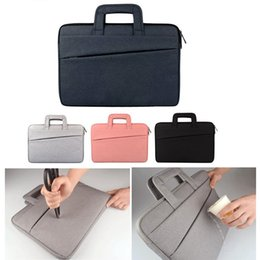 Discount 11 inch tablets cases - Luxury Handbag Shockproof waterproof notebook Briefcase for Macbook ipad air pro 11.6 13.3 14 15.6 inch laptop bag table