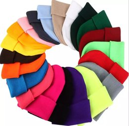 Cute winter beanies for women online shopping - Winter Hats for Woman New Beanies Knitted Solid Cute Hat Girls Autumn Female Beanie Caps Warmer Bonnet Ladies Casual Cap MMA1102