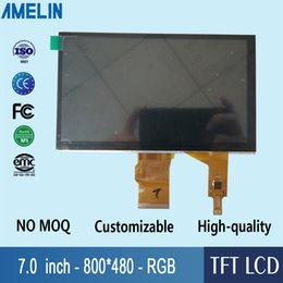 Tft Lcd Touch Screen Module Australia - 7 inch 800*480 TFT LCD module display with RGB-24BIT interface capacitive touch panel and EK9716 Driver IC screen