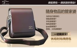Discount office bag for men leather - Men Bags, Leather Shoulder Bag Messenger Bag Cross body with Adjustable Canvas Strap Briefcase for Work Travel Office
