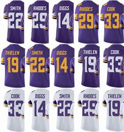 1b8fdf50c Minnesota Viking Jersey Men s  33 Dalvin Cook 14 Stefon Diggs 22 HARRISON  SMITH 19 Adam Thielen  Untouchable Limited Jerseys