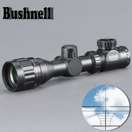 Shotgun Scope online shopping - BUSHNELL X32 Hunting Green Red Dot Illuminated Tactical Riflescope Reticle Optical Sight Scope For Shotgun Riflescope