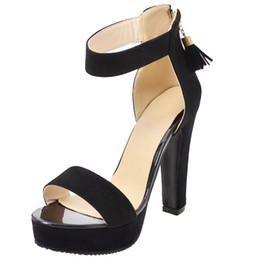 25f856cc5057 Smilice 2018 Woman Micro Suede Sandals with Stiletto and Open Toe Elegant  Working Dressy Shoes with Large Size Available A523