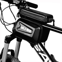 $enCountryForm.capitalKeyWord NZ - Bicycle Saddle Bag Waterproof Bike Bag Frame Front Head Top Tube Cycling 4-6 Inch Phone Touch Screen Bicycle Accessories