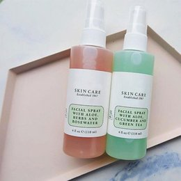 Red bulbs online shopping - Mario Badescu Skin Care Facial Spray with Aloe Cucumber And Green Tea Herbs and Rosewater ml face Toners DHL free
