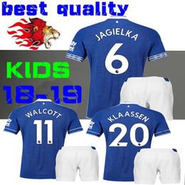 2019 Walcott everton and KIDS Soccer jersey 18 19 home SIGURDSSON CENK TOSUN  Zouma Andre Gomes Digne Mina Child BOYS football shirts ac3ce552d
