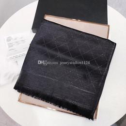 $enCountryForm.capitalKeyWord Australia - Wholesale-The famous style designer silk scarves of woman popular soft fashion Shawl women silk cotton scarf square 180*70cm