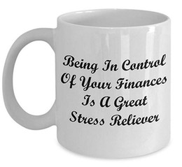 eco unique gifts UK - Budget Analyst Coffee Mug, Best Funny Unique Financial Accountant Tea Cup Perfect Gift Idea For Men Women - A great stress reliever