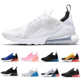 38f9089e88b 2018 Air Cushion Men Running Shoes for Mens Sneakers 270 Shoes Sport Brand  Best Runner Womens Pink Athletic Trainers Designer Maxes Zapatos