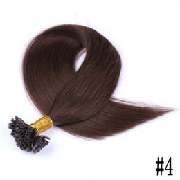 $enCountryForm.capitalKeyWord Australia - Full Cuticle Silky Straight Pre-bonded U Tip Hair Extension 100g Set Blonde U Tip Hair Extensions FDSHINE