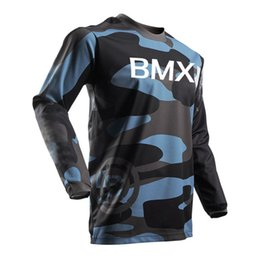 Bmx Moto Bicycles UK - 2018 New product BMX motocross jersey Cycing moto Jersey  Off Road Mountain Bike DH Bicycle moto Jersey K