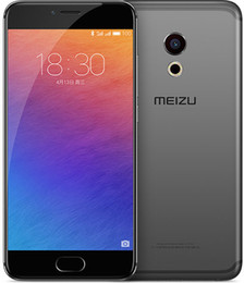 meizu mp3 player black camera Australia - Original Meizu Pro 6 4G LTE Cell Phone 4GB RAM 32GB 64GB ROM MTK Helio X25 Deca Core Android 5.2inch FHD IPS 21.16 MP Smart Mobile Phone