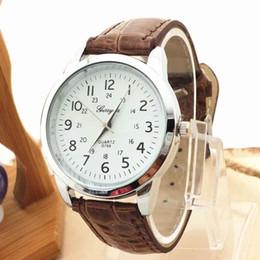 $enCountryForm.capitalKeyWord Australia - Timezone#301 Elegant Unisex Watch Analog Luxury Sports Leather Strap Quartz Mens Wrist Watch Free Shipping