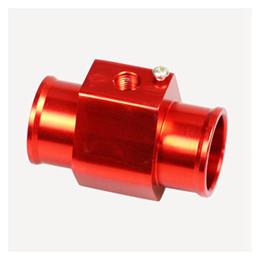 $enCountryForm.capitalKeyWord Australia - Free Shipping Defi Water Temperature Gauge Joint Pipe Radiator Hose Sensor Adaptor Red Color 28mm 30mm 32mm 34mm 36mm 38mm 40mm