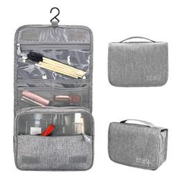 3 стили 6 цветов водонепроницаемый макияж косметические сумки туалетные сумки путешествия висит организатор сумки для ванной путешествия и школы