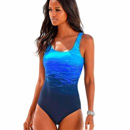 830ffc1384568 Swimming Suit Lycra UK - wholesale Plus Size Swimsuit One Piece Swimwear  Women Push Up Swim