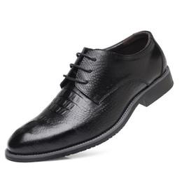 Party Shoes For Men Australia - designer crocodile shoes italian brand oxford shoes for men genuine leather shoes men formal zapatos de hombre calzado hombre sepatu pria