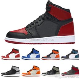 1 OG Mens Basketball Shoes Chicago Chameleon Bred Toe Shadow Camo Game  Royal 1s HOMAGE TO HOME New Love City Of Flight Black Red US7-13 8827d160d