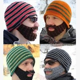 $enCountryForm.capitalKeyWord Australia - 5 Colors Hats Beanie Skull Caps Bearded Wool Knitted Hats Beard Knitted Hat Warmer Ski Bike Skull Hat Unisex Men Beard Cap Christmas hat