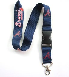 Wholesale Look Some of your favorite baseball teams are here Lanyard mobile phone neck strap key chain Large quantity favorably