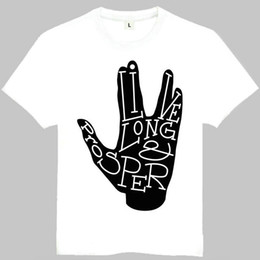 Star Trek Spock Canada - Star trek t shirt Mr spock short sleeve gown Cool tees Leisure clothing Quality cotton fabric Tshirt