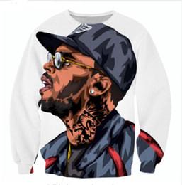 $enCountryForm.capitalKeyWord Canada - Wholesale-Newest Fashion Womens Mens Chris Brown Funny 3D Print Casual Sweatshirt Tops Plus Size QQy047
