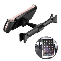 Ipad seat mount online shopping - Universal Adjustable Backseat Tablet Holder in Car for iPad Mini Back Seat Headrest Mobile Phone Stand Mount