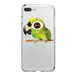 Phone giraffe online shopping - For iPhone X PLUS PLUS Phone Bird owl Giraffe Pattern Soft Silicon Mobile Phone Bag